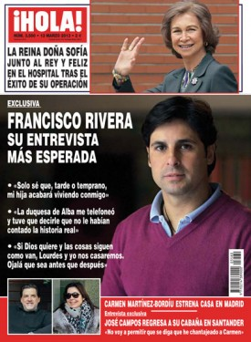 ¡HOLA! 3580  (13/MAR/2013)
