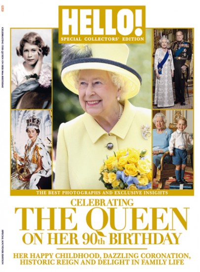 HELLO! - QUEEN ELIZABETH´S 90TH BIRTHDAY