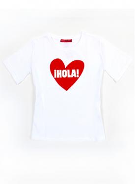 T-SHIRE - MOD.¡HOLA! HEART Agatha Ruiz de la Prada
