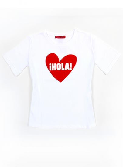 T-SHIRE - MOD.¡HOLA! HEART