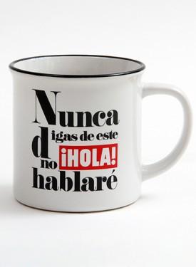 """75TH-ANNIVERSARY COLLECTION CUP  Nunca digas de este ¡HOLA! no hablaré - """"¡HOLA! - Never say never!"""""""