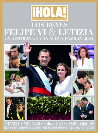 ¡HOLA! - PROCLAMATION KING AND QUEEN OF SPAIN - Digital